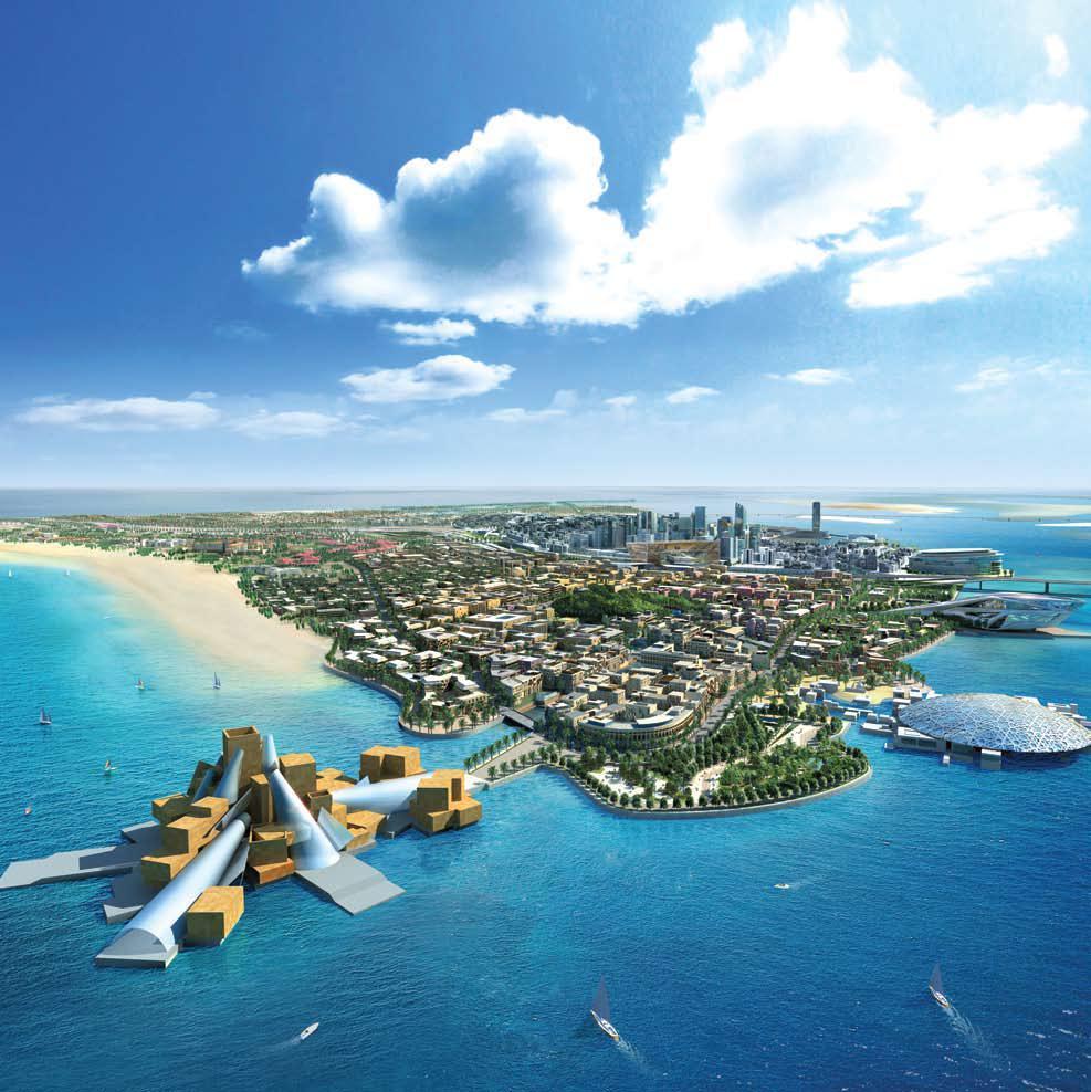 Abu Dhabi Insel