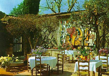 St Paul De Vence Restaurant Picasso