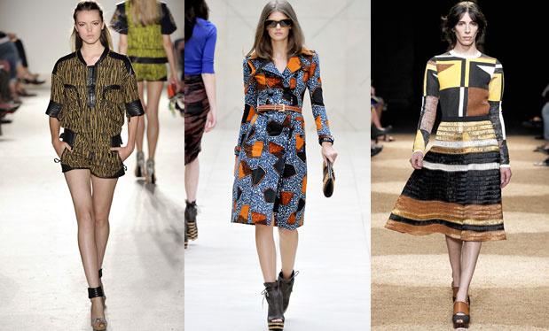 Modetrends für den Frühling 2012