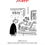 Matt – Der Cartoonist des Daily Telegraph