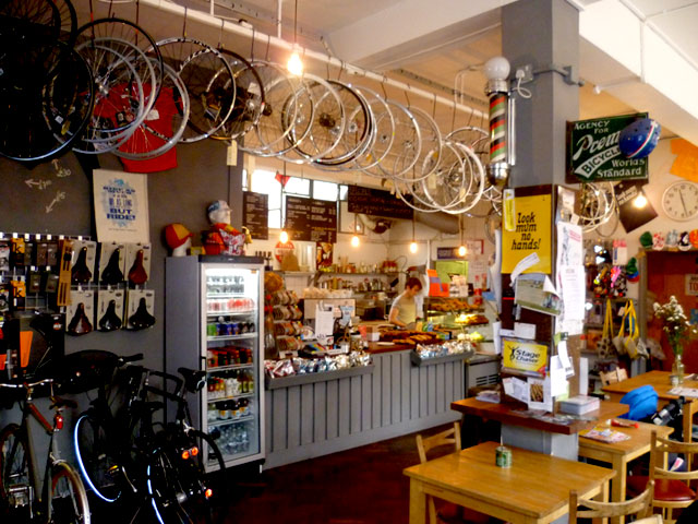 Cycling Cafe London