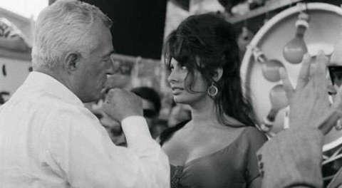 Sophia Loren und Vittoria de Sica