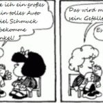 12 in 12 – Mafalda – Klein, frech und liebenswert